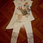 В наличии Брендовые оригинальные платья -туники для девочки NOVA