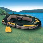 Надувная лодка 2-х местная лодка 68347 SeaHawk 2 с веслами и насосом