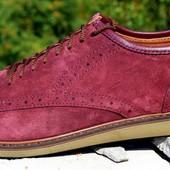 Туфли мужские кожаные Prinston размеры 40-45 №265 color