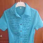 Блуза  Р.38.  Стрейч