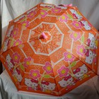 Зонт зонтик со свистком, 71см Hello Kitty