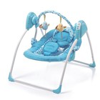 Кресло-качалка Geoby QQ502-SHB, голубой