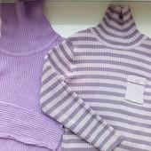 Свитерки под горло - Гольфики для модняшки от Next и BHS на 5-6 лет