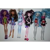куклы монстер хай базовые б.у. дьюс, нефера де нил, тореляй , торалей, спектра венера