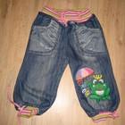 Джинсовые капри для девочки 5 лет