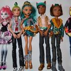 Огромный выбор кукол Монстер хай б.у . + одеждла и подставки Новый завоз