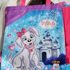 Рюкзак - сумка для сменной одежды! Для игрушек в песочницу и на пляж , в сад и школу Собачки