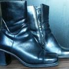Ботинки кожаные зимние Монарх
