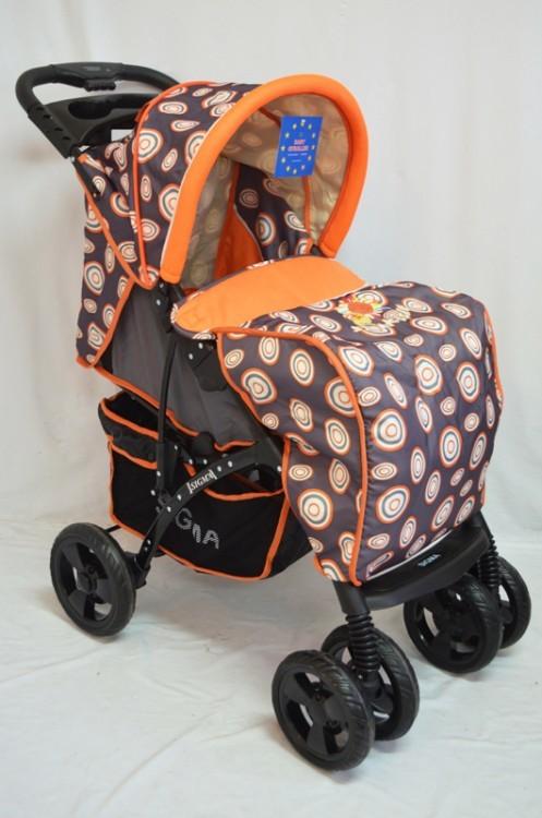 Детская прогулочная коляска Sigma YK-8F фото №1