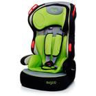 4 Baby автокресло 1/2/3 Basco Green (зеленый)