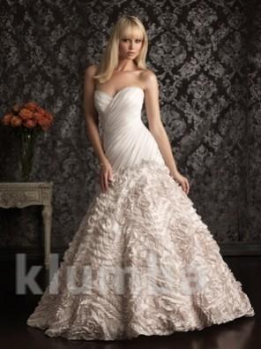 Срочно продам эксклюзивное свадебное платье от кутюр (allure bridals)! фото №1