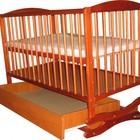 Детская кроватка-качалка ТМ