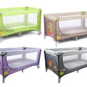 Манеж кроватка детский Carrello Piccolo crl-7303 цвета