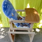 Стол стульчик с регулировкой спинки