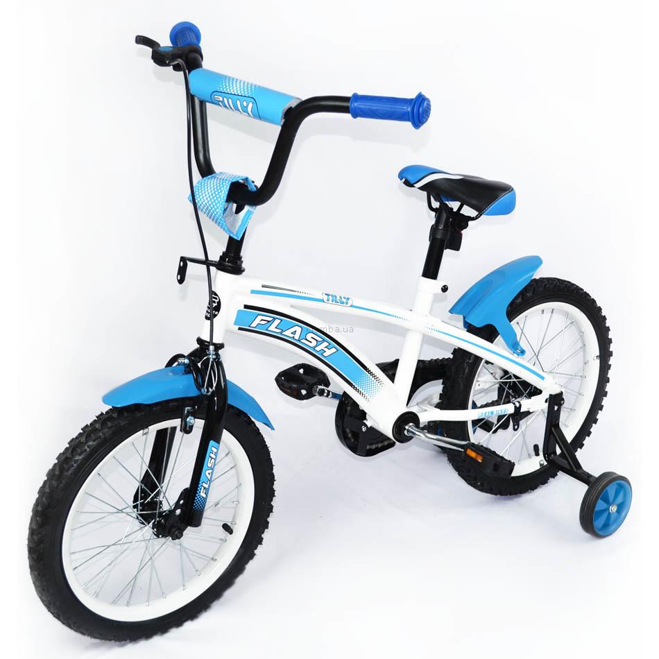 Велосипед двухколесный flash 16 фото №1