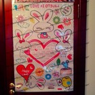 ஐஐஐИнтерьерная наклейка на стены Зайчики  для детской ஐஐஐ