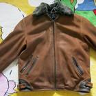 Шкіряна чоловіча куртка 3 сезони