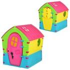 Детский пластиковый домик Marian Plast 680 (95 x 90 x 110 см)