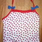 майка -топик бантики для купания под любые плавки на 3-5лет