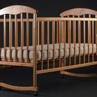Детские кроватки (ольха и ясень ) светлая,темная