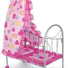Кроватка для кукол с балдахином Melogo 9394