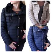 Женская зимняя куртка ,синяя зимняя женская куртка, зимний пуховик