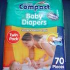 Детские подгузники, остаток, 3-6 кг