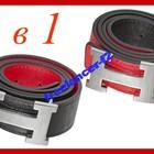 Двухсторонний ремень Hermes длина 110см