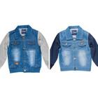 Джинсовая куртка для мальчика подростка 8-16лет