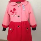 Пальто кашемировое двухцветное «Софийка» с беретом.