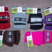 Перчатки-варежки для мальчиков и девочек в наличии
