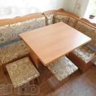 Новый кухонный уголок(угол+стол+2 табуретки.)