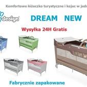 Манеж-кровать Baby Design Dream 2017г.