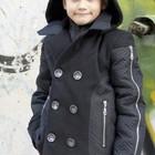 Пальто на мальчика демисезонное с капюшоном