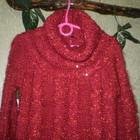 Кофта свитер туника 4- 6 лет