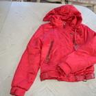 Красивая красная куртка на размер 42-46