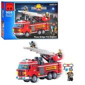 Конструктор детский Brick 904 Пожарная машина, Брик