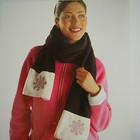 флисовый шарф Германия