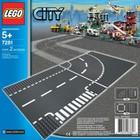 Lego City T-образный перекресток 7281