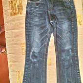 Модные джинсы на осень- весну подростку р. 40 -42 Состояние новых