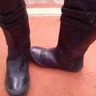 Осенние кожаные сапоги 31 р (19 см) Plop (Italia)