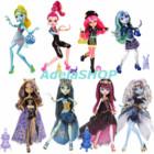 В наличии 100 кукол Monster High. 13 Wishes монстер хай желаний эбби клаудин дракулаура френки