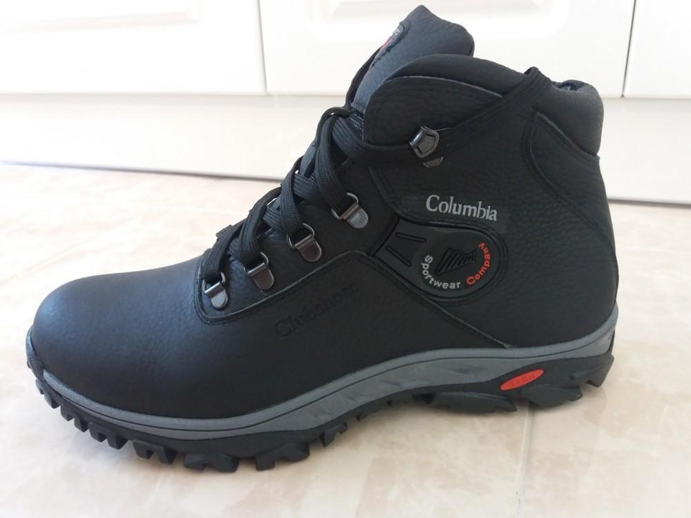 Мужские зимние ботинки из натуральной кожи, р. 40-45, код si-3254 фото №1