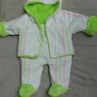 Теплый костюм 3-6 месяцев.
