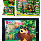 Интерактивный планшет для детей «Маша и Медведь» 3305