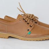 Легендарные кожаные туфли р. 41--26. 7 см. KicKers