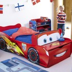 Кровать - машина Молния Маквин с ящиком в комплекте!