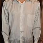 Мужская белая рубашка на выпускной  дешево
