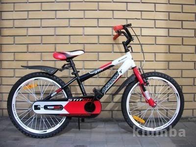 Детский двухколесный велосипед Azimut Stitch Premium для мальчиков, девочек фото №1