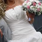 Свадебное платье шубка и круги в подарок